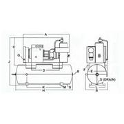 sullivan-palatek� d series 15 to 40 horsepower (hp) rotary screw industrial