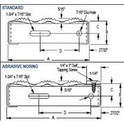 Superieur Grip Strut ® Plank Gratings Stair Treads   Schematic Diagram