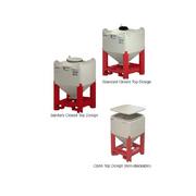 1323 30 Cubic Feet (ft³) Capacity Plastic Flowmaster Hopper Bin from