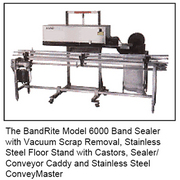 Bandrite model 6000 band sealer from packrite bandrite model 600 band sealer with vacuum scrap removal fandeluxe Choice Image