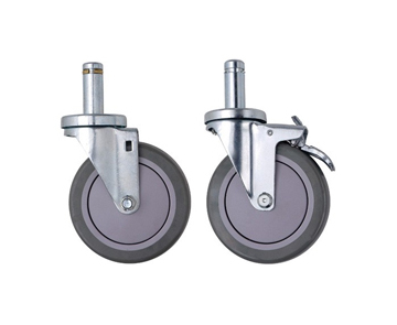 Casters Caster Wheels 5 Stem Casters Wheels Wagner Casters Swivel Casters with Brakes Metal Caster Wheels Large Casters