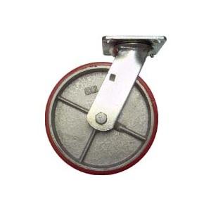 "Brushed Brass Hood. 5 Pcs 1 3//4/"" Dual Wheel Furniture Caster"