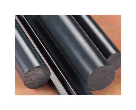 "2.5/"" Diameter by 12/"" Inch Long Gray Color PVC Rod Plastic Polyvinyl Chloride"