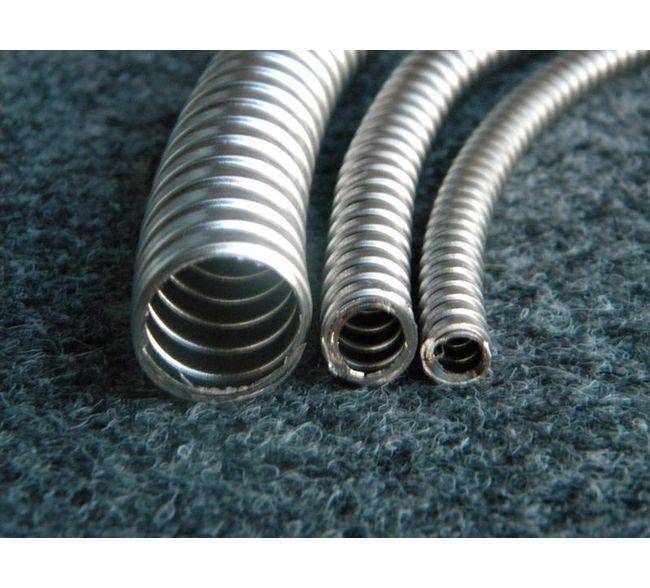 "Anamet Reduced Wall Steel Flexible Metal Conduit 25/' ft coil 2 1//2/"""
