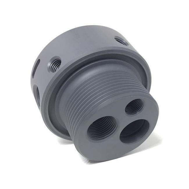 "1/"" Diameter by 48/"" Inch Long Gray Color PVC Rod Plastic Polyvinyl Chloride"