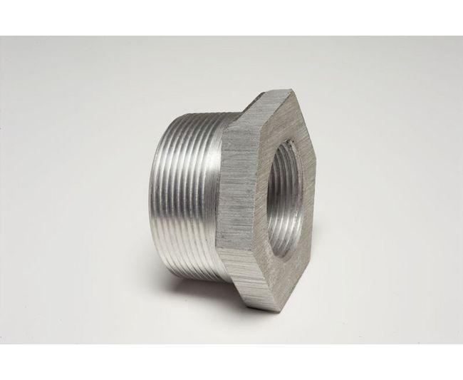 Short Barrel Crossover Hollaender Aluminum Alloy Pipe Rail Fitting 3//4 Inch Pipe