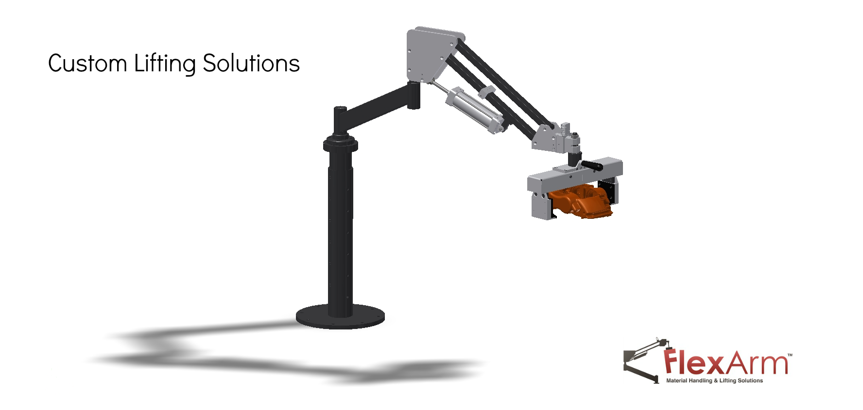 Lift Assist Articulating Arm : Flexarm inc wapakoneta ohio oh