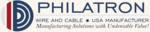 Philatron Wire & Cable Company Logo