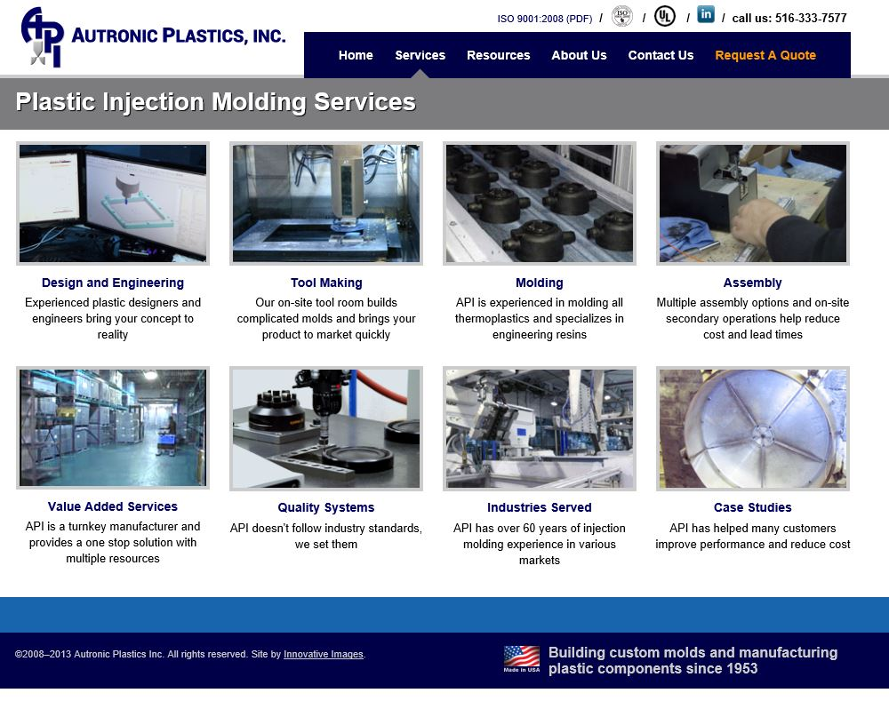 Autronic Plastics, Inc  Central Islip, New York, NY 11722