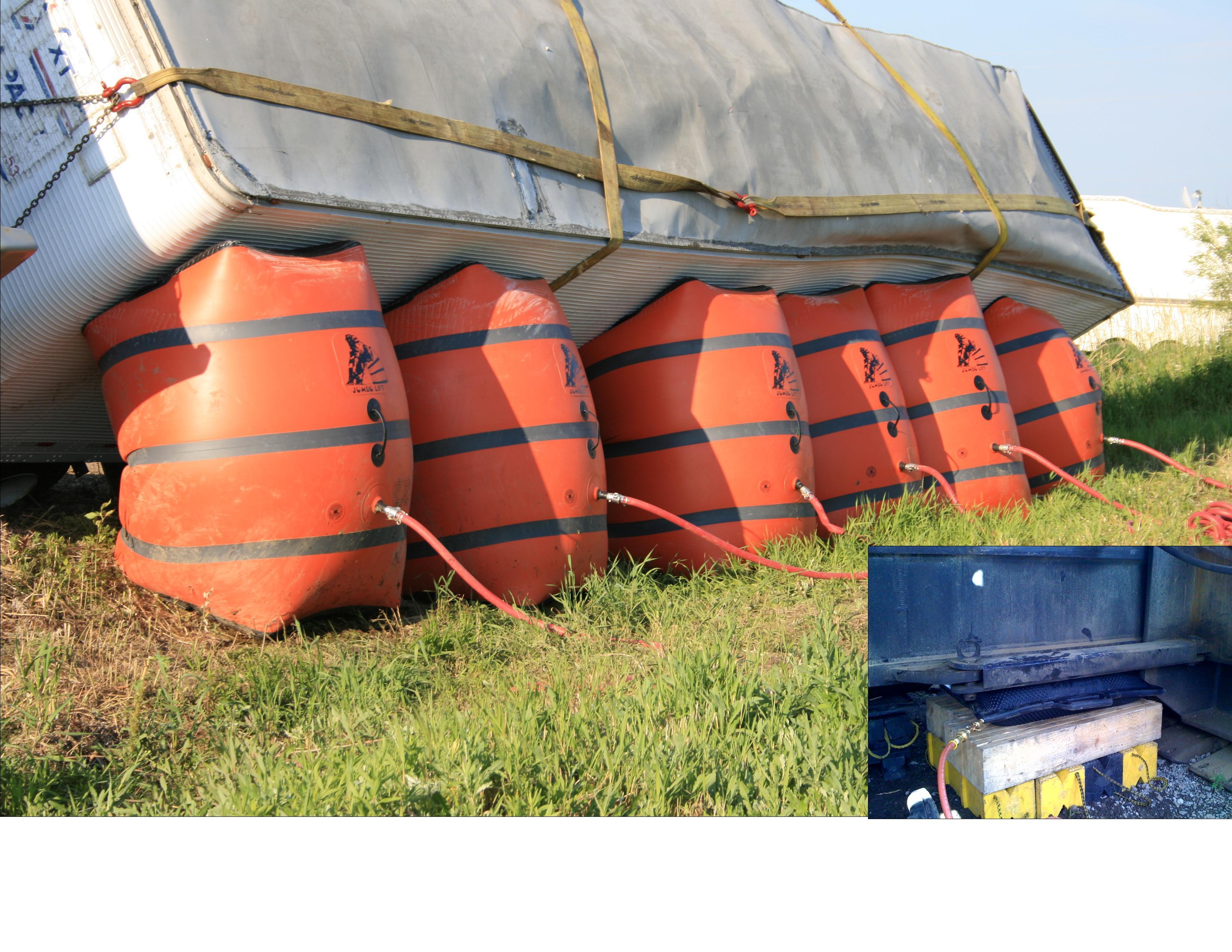 air ton high matjack grey steel products mat aramid pressure jack or bag jacks mats inflatable airlifting
