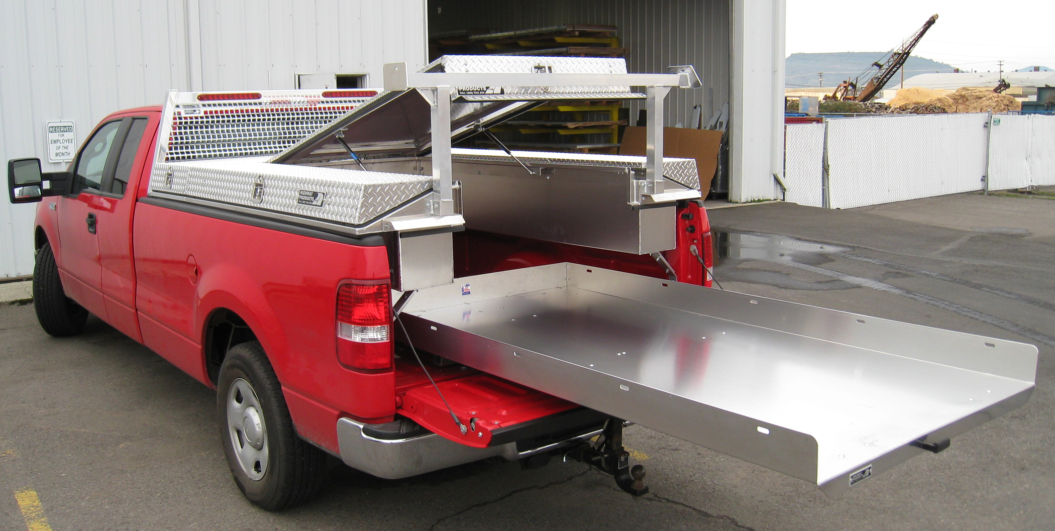 Mechanic Truck Bed