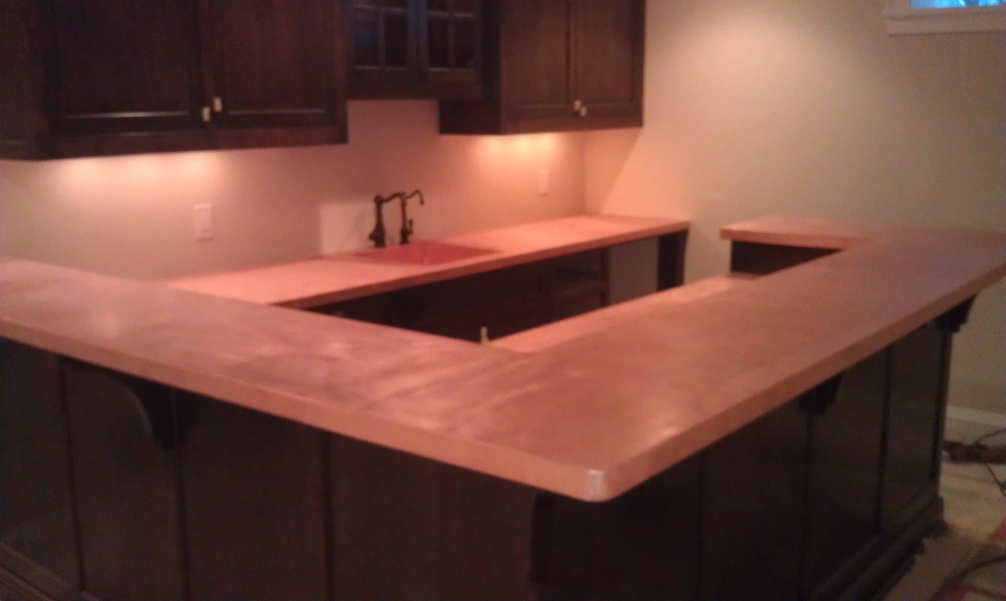 minnesota with natural paul material st stonetop veining counters projects concrete minneapolis countertops inlay remodel countertop copper stone kitchens kitchen complements custom surfaces best