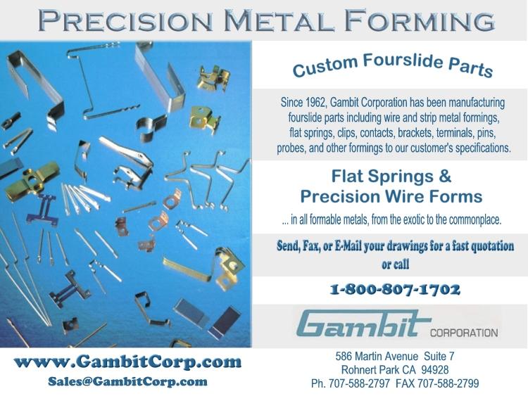 Gambit Corporation Rohnert Park, California, CA 94928-2095