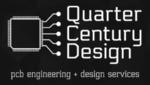Quarter Century Design Company Logo