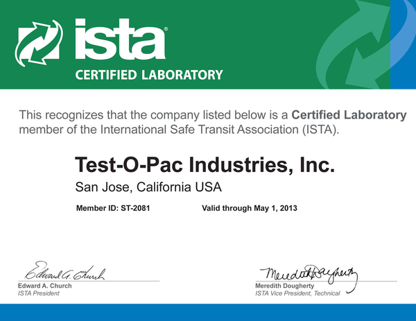 ISTA Certification Definition | What is ISTA? | Find ISTA Companies ...