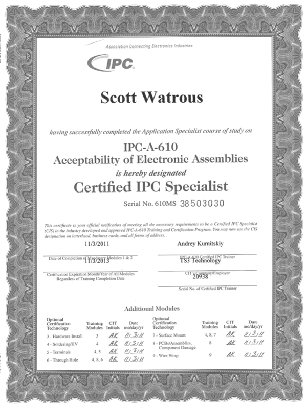IPC-A-610 Certification Definition | What is IPC-A-610? | Find IPC-A ...