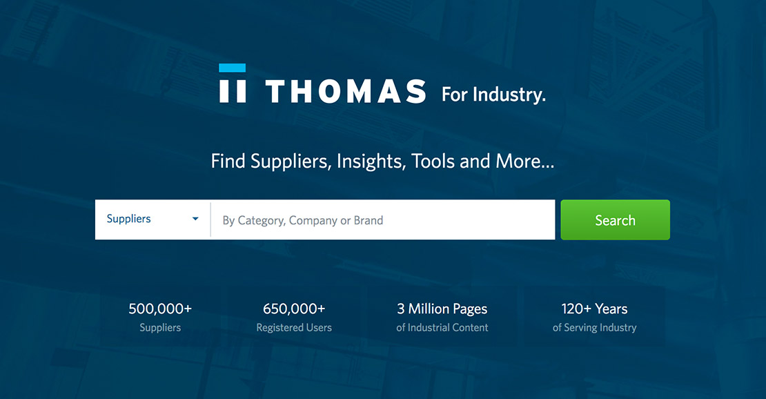 ThomasNet® - Product Sourcing and Supplier Discovery Platform