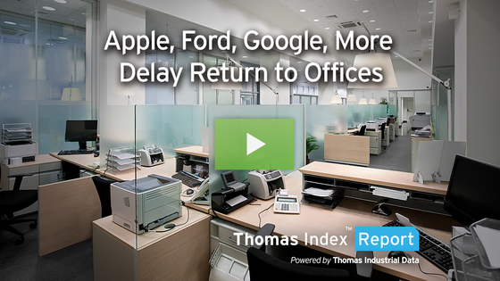 Apple, Ford, Google, Other Companies Delay Return to Office