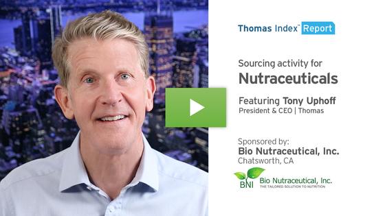 Thomas Index Report -- Nutraceuticals