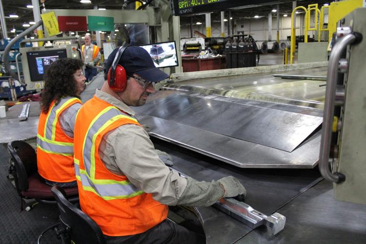 GM employees at Michigan facility