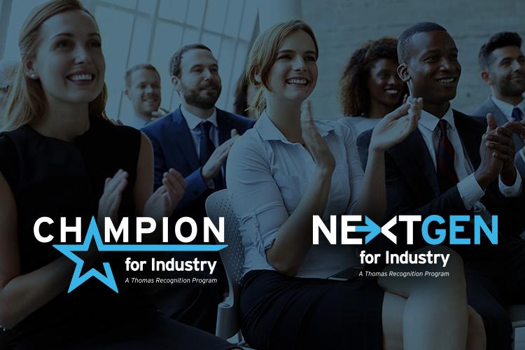 NextGen for Industry - a Thomas Recognition Program logo
