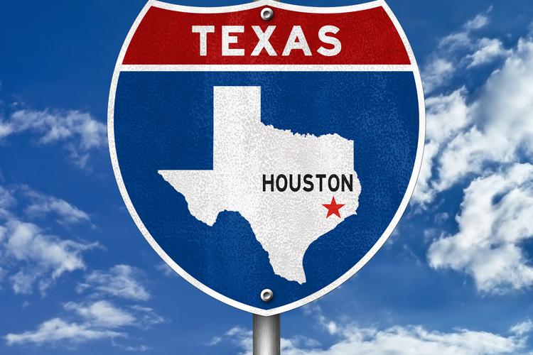 Houston, TX road sign.