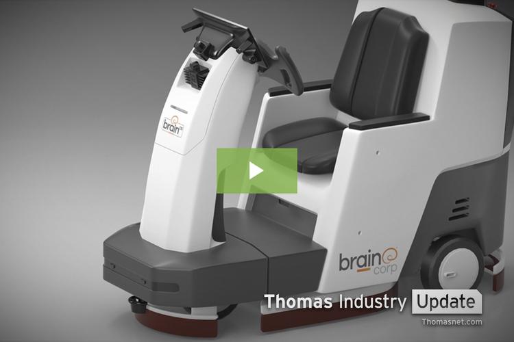 Smart Floor Cleaner Co. Expands into Autonomous Delivery