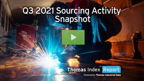 What Were the Top 5 Industrial Services, Top 5 Industrial Products Sourced in Q3 2021?