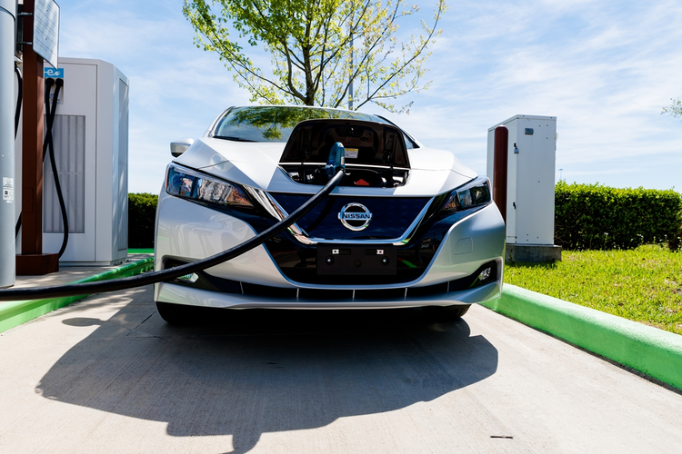 Nissan Recycles EV Batteries as Camping Trailer Chargers