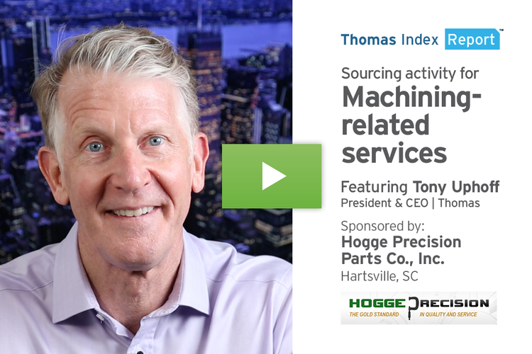 Machining Services Sourcing Hits An All-Time High