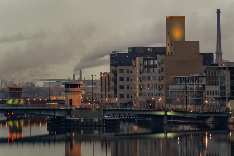 Industrial buildings in Wisconsin