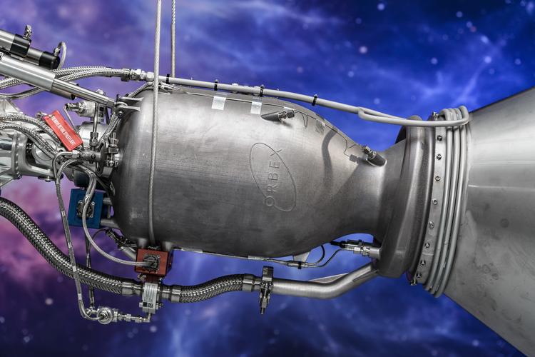Rocket engine, image courtesy of Orbex