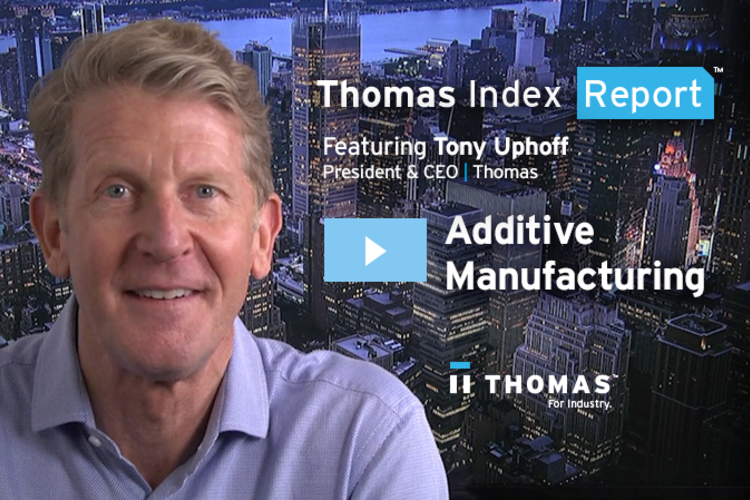Additive Manufacturing Spike Predicted Within the Next Two Months