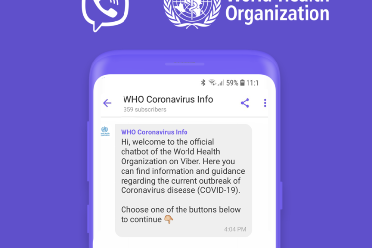 Newly Launched WHO Chatbot Fights Spread of COVID-19 Misinformation