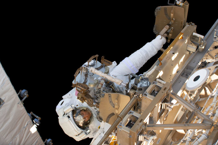 NASA Conducts First All-female Space Walk