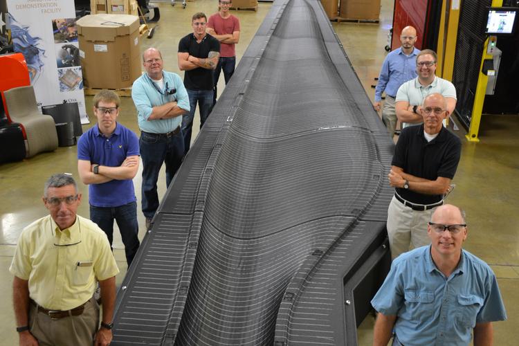 Team 3D Prints Giant Wind Turbine Mold