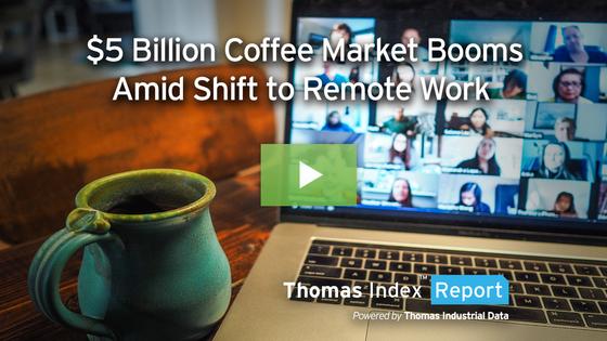 $5 Billion U.S. Retail Coffee Market Booms Amid Shift to Remote Work