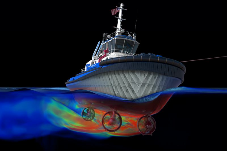 3D Modeled Commercial Vessel Is First of Its Kind in U.S.