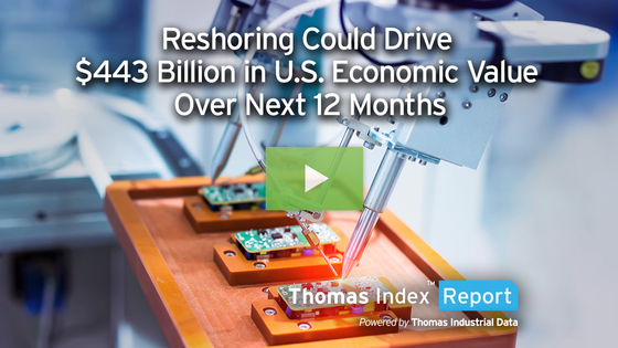 Reshoring Could Drive $443 Billion in U.S. Economic Opportunity