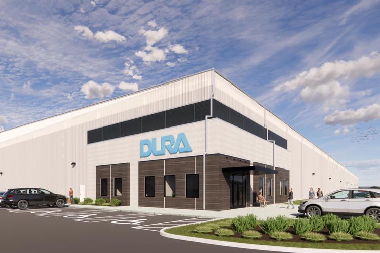 Digital rendering of new Dura facility.