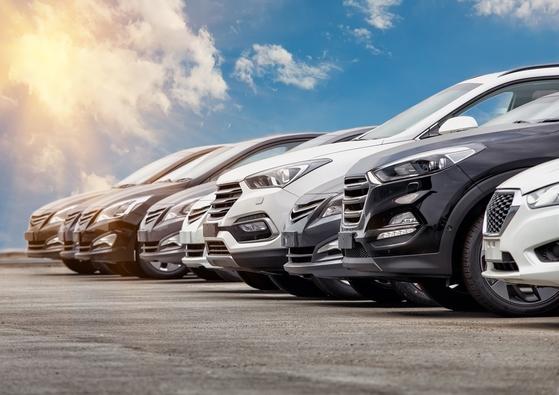 Cars for sale at dealership