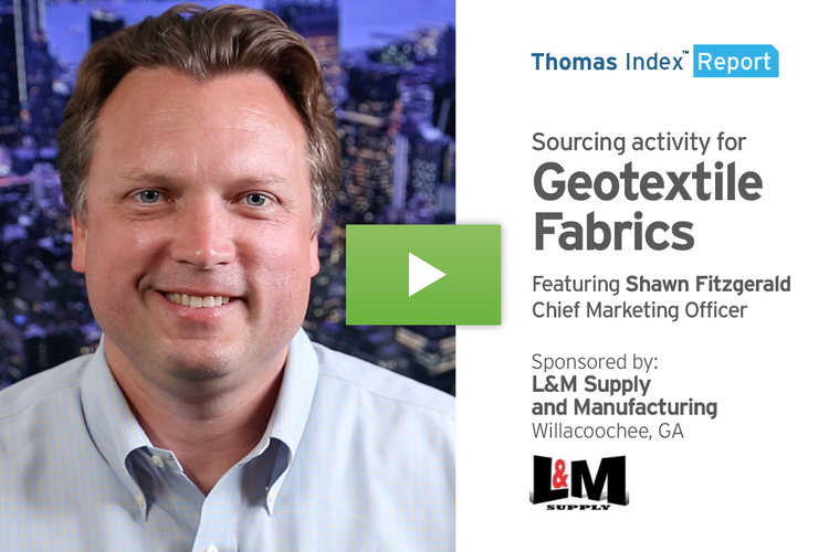 Anticipated National Infrastructure Investments Drive Increase in Geotextile Sourcing