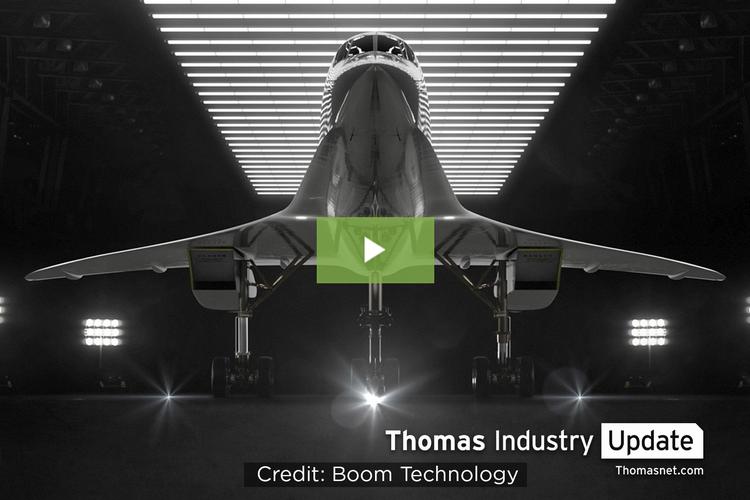 Aerospace Company Boom Unveils Supersonic Test Plane