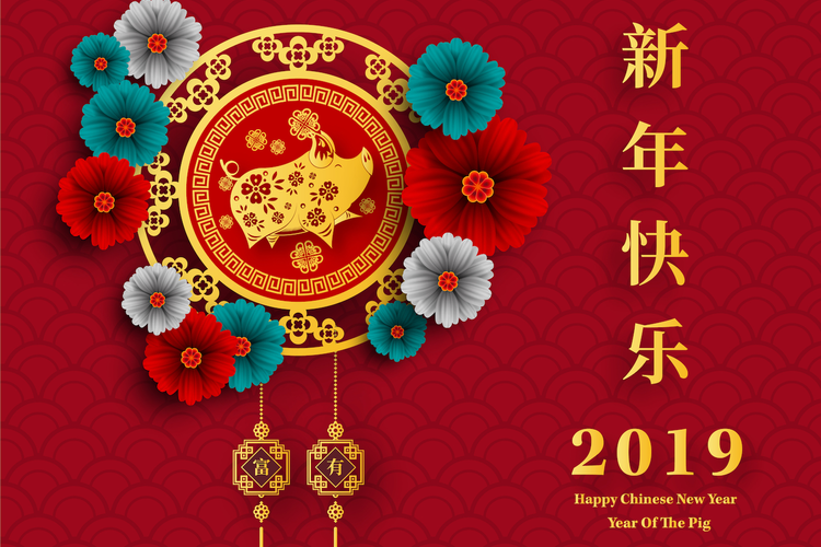 Chinese New Year, Year of the Pig 2019