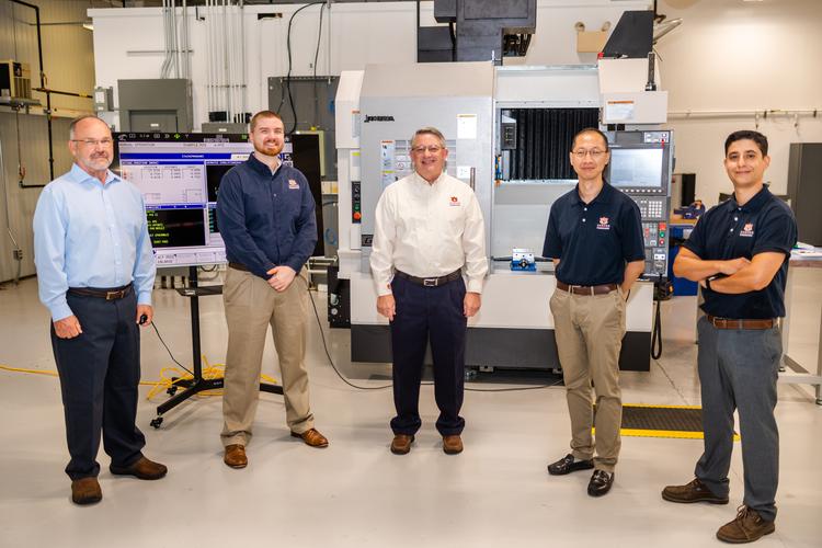 Pentagon Awards Auburn University $4.3 Million for Digital Manufacturing