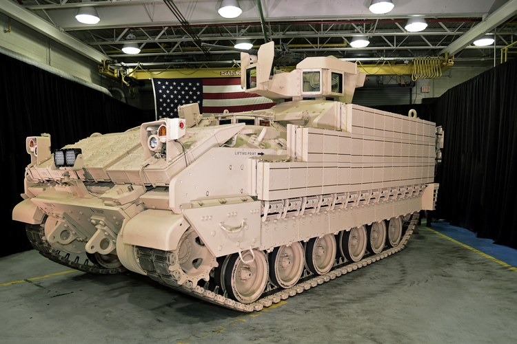 Multi-role armored fighting vehicle from BAE Systems.