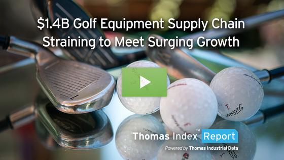 $1.4 Billion Golf Equipment Supply Chain Straining to Meet Surging Growth