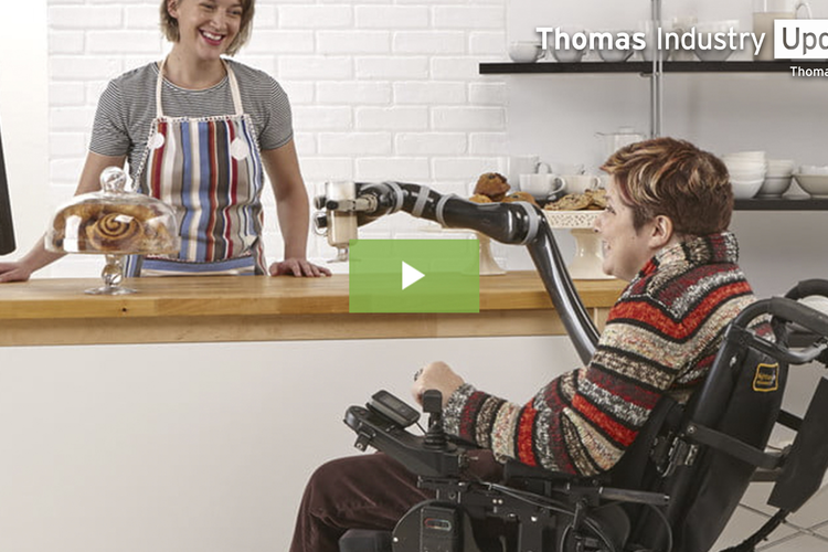 Robotic Arm Offers Independence for Wheelchair Users