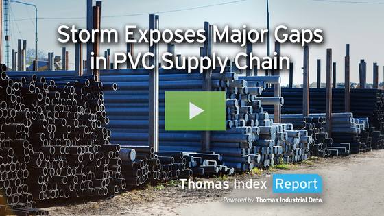 Residual Impacts of Winter Storm Drive Spike in PVC Prices, Demand