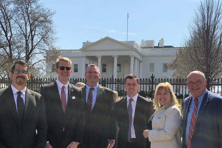 Thomas' Tony Uphoff Attends Manufacturing Roundtable at White House